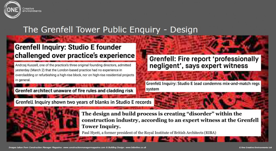 Post-Grenfell industry reform in focus