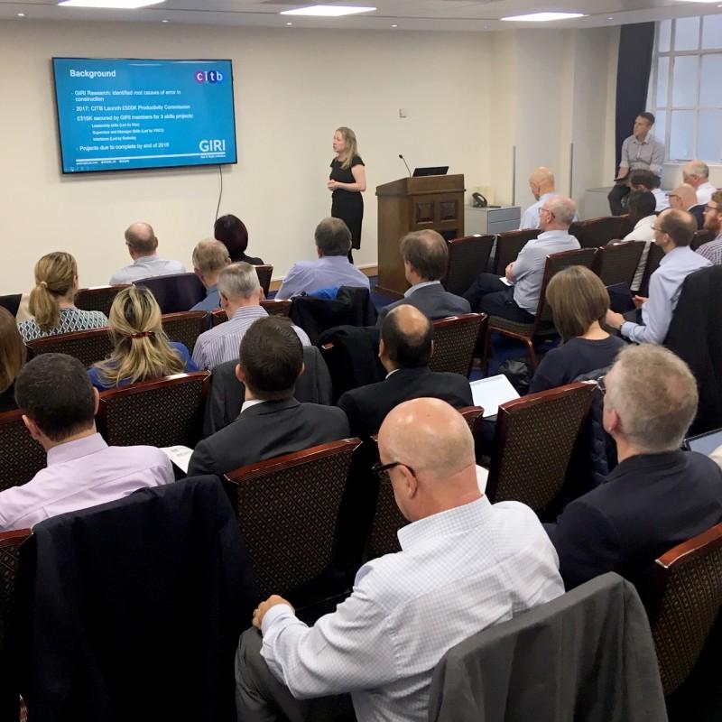 GIRI Member Meeting 14 October 2019 presentation